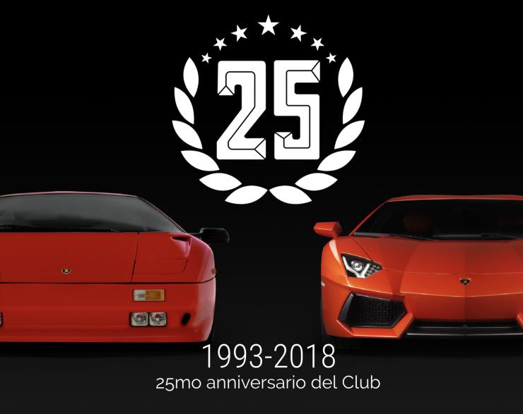 25mo Anniversario del Club